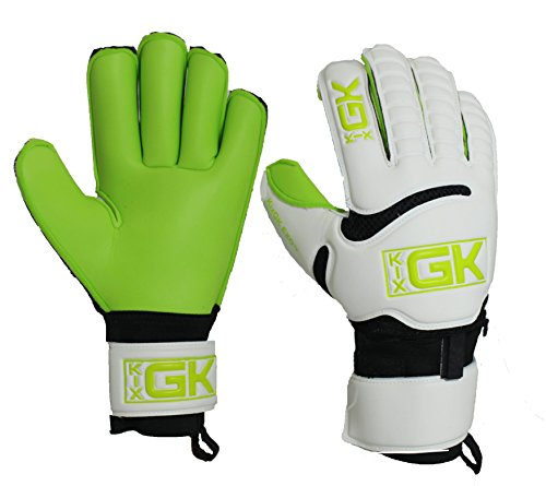 Kixsports KixGK Exo with Removeable Fingersave Goalkeeper Gloves (Measurement 5-12): All Purpose Match Training Adult & Youth Soccer Goalie Gloves – Designed for Efficiency, Consolation, & Safety – DiZiSports Store