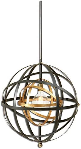 Uttermost Rondure 1 Light Sphere Pendant