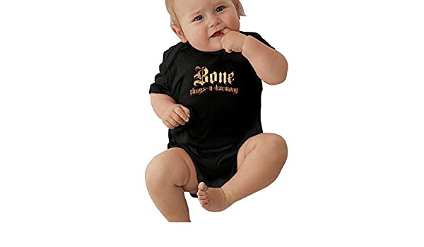 SusanHuling Bone Thugs N Harmony Unisex Baby Boys Girls Romper Bodysuit Infant Funny Jumpsuit