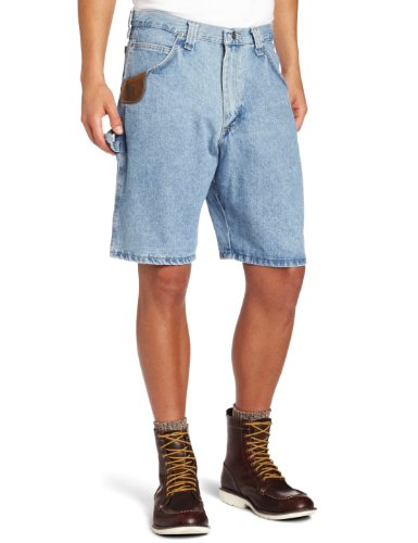 RIGGS WORKWEAR by Wrangler Men's Carpenter Short, Vintage Indigo, -