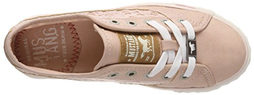 Mustang 1146-303-555, Sneakers Basses Femme Rouge (Rose 555)