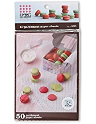 Sweet Creations Food-Safe Parchment Paper Gift Wrap, 50-Count