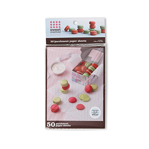 Sweet Creations Food-Safe Parchment Paper Gift Wrap, 50-Count ()