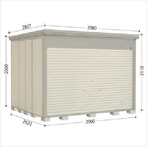 タクボ物置 NDE/ストックマン シャッター扉タイプ NDE-S2926 多雪型 標準屋根 『シャッター扉式中型大型物置』 B01LX3950J