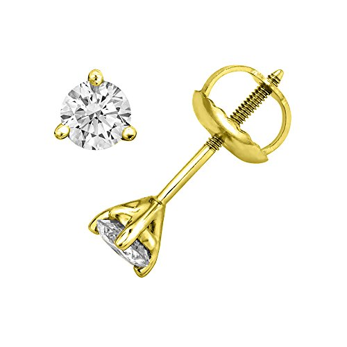 Yellow Gold 1/5 Ct Prong - 7