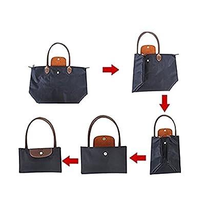 ABage Women's Waterproof Tote Bag Medium/Large Nylon Travel Shoulder Beach Bags