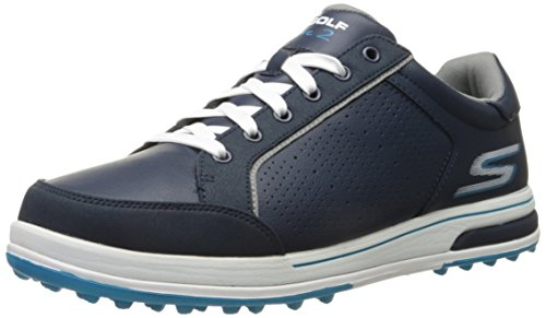 Skechers Performance Men's Go Golf Drive 2 Golf Shoe, Navy/White, 13 M US