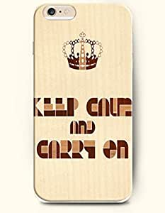 Case For Ipod Touch 4 Cover Case,OOFIT Case For Ipod Touch 4 Cover Hard Case **NEW** Case with the Design of keep calm and carry Case For Ipod Touch 4 Cover (2014) Verizon, AT&T Sprint, T-mobile
