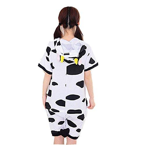 Colorfulworld Pijamas Juguetes y Juegos Animal Ropa Animales Pijama Cosplay Disfraces (XL, owl) cows