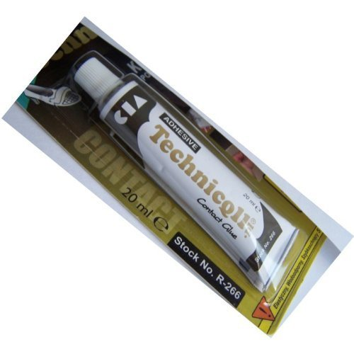 CONTACT ADHESIVE GLUE FOR LEATHER RUBBER CORK PLASTIC METAL FELT LEATHERETTE new Technicqll