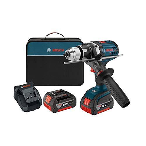 Bosch DDH181X01RT 18V Cordless Lithium-Ion 1/2 in. Brute Tough Drill Driver with Active Response Technology (Certified Refurbished)