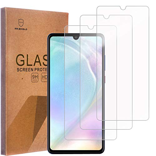 [3-Pack]-Mr.Shield for Huawei (P30 Lite) [Tempered Glass] Screen Protector with Lifetime Replacement