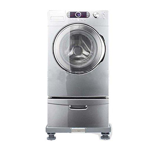 Washing Machine Base, Multi-functional Adjustable Base Washing Machine Base Plate, Stainless Steel Bracket,for Washing Machine,Dryer And Refrigerator by DSHBB (Image #2)