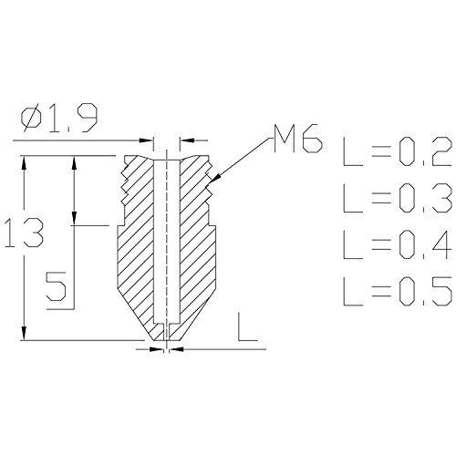 Additive Manufacturing Products BALITENSEN 4cs 3D Printer