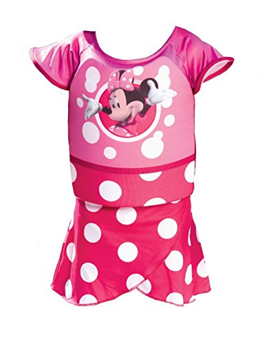 Polywog Suit (Swimways Deluxe Minnie Mouse Swim Shorty Pink Polywog Swimming Suit)