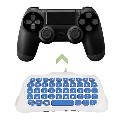 Bangcool Mini 2.4G Wireless Keyboard Adapter Chatpad Keypad for PS4 Controller