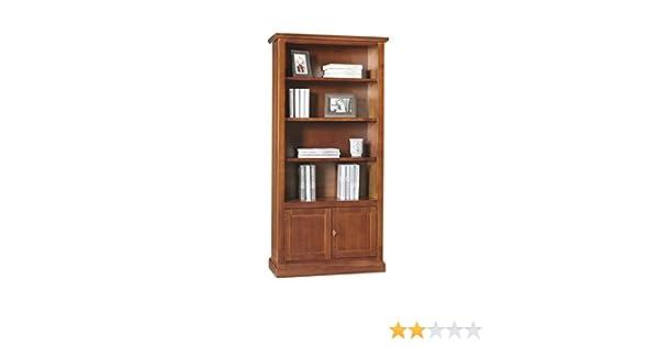 Libreria Vetrina Ufficio : Giò luxury libreria stile classico in legno massello e mdf con