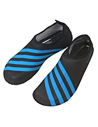 Panegy Men's Women' Spandex Solid Color Barefoot Water Skin Shoes for Beach Swim Surf Yoga Exercise