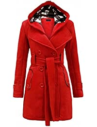 Amazon.com: Red - Wool & Blends / Wool & Pea Coats: Clothing ...