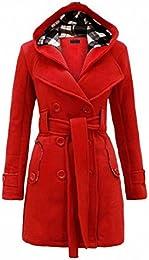 Amazon.com: Red - Wool &amp Blends / Wool &amp Pea Coats: Clothing