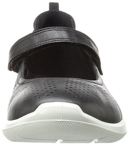 Ecco Pour Femmes Met concrete Noires Soft 50628black 5 Silver Black Merceditas IrnvrWtq