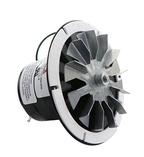 Rotom Pellet Stove Blower Motor, Replacement Hb Rbm 120, 1/14hp, 3000 rpm, 0.6 Amp., 115 V Avalon Pellet Stove