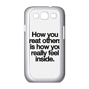 Samsung Galaxy S3 9300 Cell Phone Case Covers White Feel Inside SBG