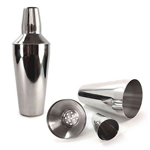 Tuff-luv Starter Manhattan Stainless Steel Cocktail Shaker (750ml)