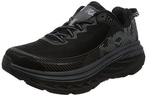 Hoka One One Men's Bondi 5 Black/Anthracite Running Shoe 8.5 Men US