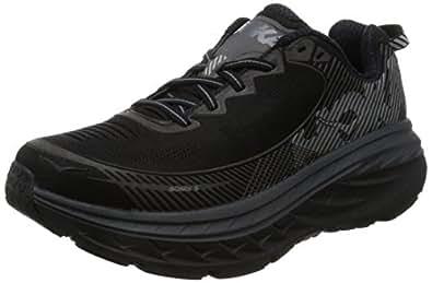 Amazon.com | Hoka Bondi 5 Running Shoes - SS17-8.5 - Black
