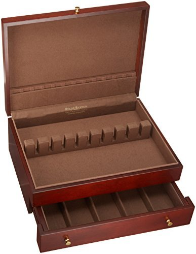 Reed & Barton Easton Flatware Chest, 15-Inch x 11-Inch x 5.5-Inch, Mahogany by Reed & Barton (Image #3)
