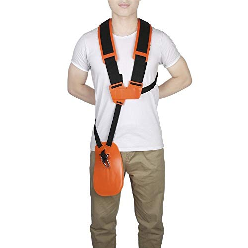 Ruixunte Trimmer Shoulder Strap Harness Belt Double Brush Saw Chainsaw Cutter Weed Eater