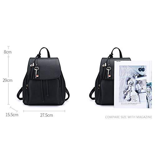 Zaino Collegio Coreano Femminile Backpack Vento Selvaggio Moda Casual Borsa P16q1dw