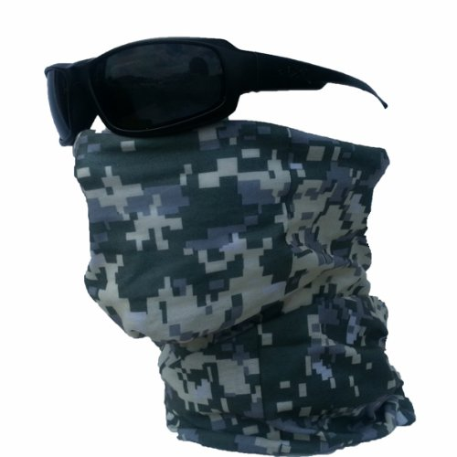 Camo Tactical Tube ACU Army Digital Camouflage Bandana Military Multifunction Face Mask Ski Balaclava Snowboard Moto X Face Protection Harley Davidson Snowboard Ski Mask Multi Function Tactical Seamless Camouflage Balaclava