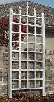 Trellis Panel (Dura-Trel 11140M Camelot Trellis, Mocha)
