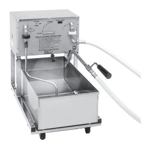 Pitco Frialator Portable Fryer Filter for Size 14 Fryers ()