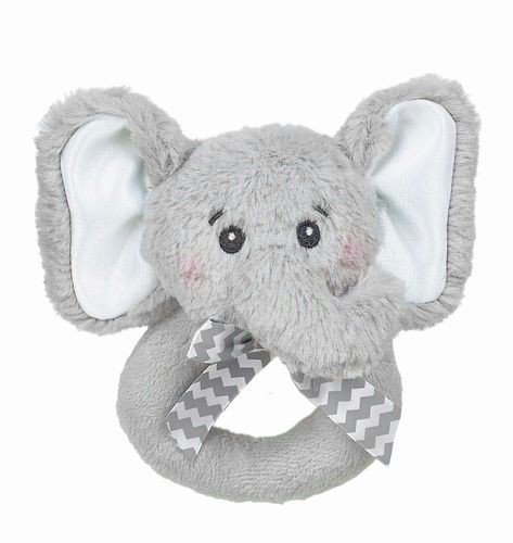 Bearington Baby Lil' Sprout Ring Rattle