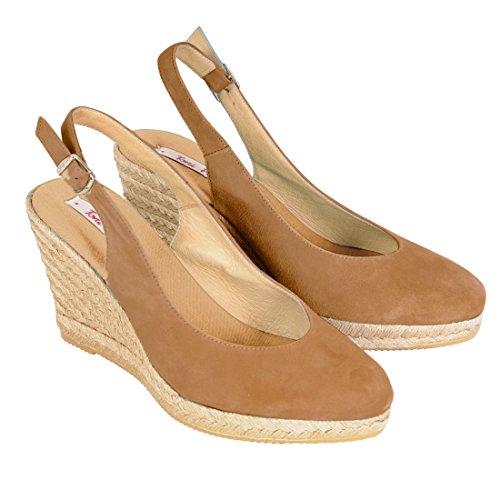 Sandale VALENCIA beige - (BEIRUT-7, TABACCO)