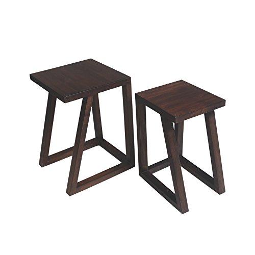 Kiwa Twin Coffee Table (Brown)