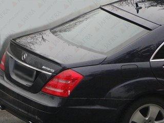 Mercedes Benz Clase S W221 Alerón Trasero Labios ABS: Amazon ...