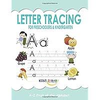 Letter Tracing for Preschoolers and Kindergarten: Preschool Practice Handwriting...