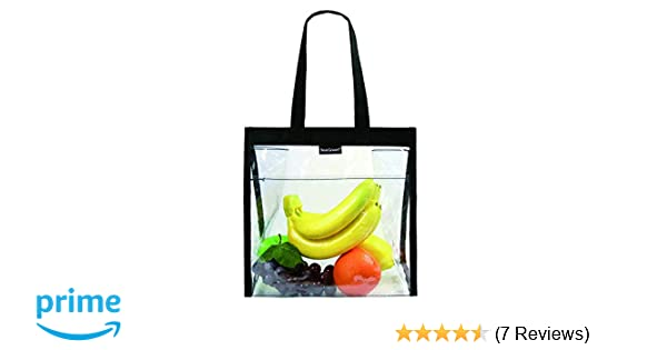 cfd67bbec9c2 Amazon.com   Clear Lunch Tote Bag for Women Men