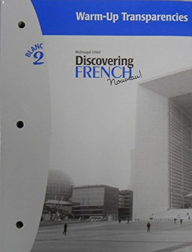 Discovering French, Nouveau!: Warm-Up Transparencies Level 2