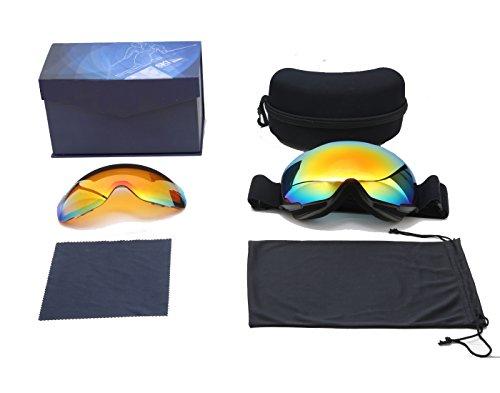 how to change lenses on ashsomething ski goggles