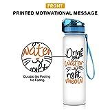 Coolife 32oz 1 Liter Motivational Tracking Water