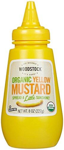 - Woodstock Farms Organic Mustard - Yellow - 8 Ounces