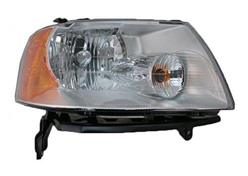 (Headlight Headlamp Passenger Side Right RH for 05-07 Ford Freestyle)