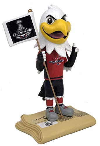 Kollectico Washington Capitals Stanley Cup Champions Mascot Bobblehead -