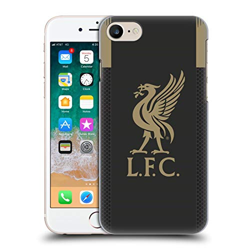 Official Liverpool Football Club Home Goalkeeper 2019/20 Kit Hard Back Case Compatible for iPhone 7 / iPhone 8