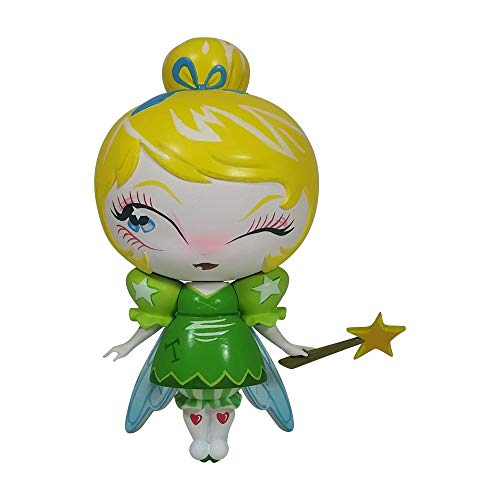 Enesco World of Miss Mindy Presents Disney Designer Collection Tinker Bell Vinyl Figurine, 7